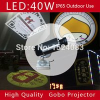 Wholesale W outdoor Gobo Projector piece custom made LED logo advertising lighting