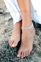 armed beach - arm bracelet delicate anklet chain anklet ankle bracelet beaded chain anklet foot jewelry arm chain beach anklets silver filled bracelet