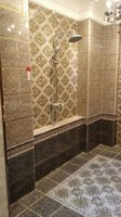 Wholesale LUXURY washroom bathroom wall floor tile Gold plated tile good quality LOW PRICE HOT SELL