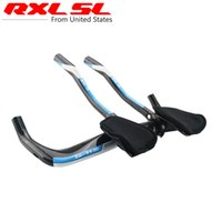 bicycle handlebar styles - RXL SL Newest TT style road bike carbon Handlebar triathlon Time trial carbon bicycle Handlebar Rest handlebar mm