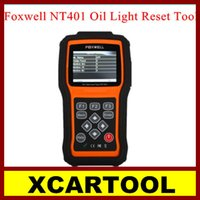automotive oil change - New arrival XCARTOOL Professional Foxwell NT401 Oil Light Reset Tool NT401 Oil Change Scanner with Best Price