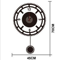 cheap free shipping zy822 new design removable diy clock artistic wall hanging clocks mechanism wall clock artistic lighting and designs