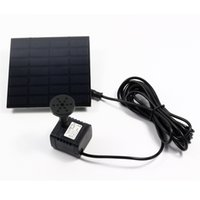 Wholesale Solar Power Water Pump Long cable Watt with Separate Solar Panel Solar Power Fountain DHL Fast Shipping
