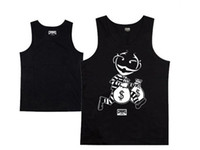 Wholesale Hot sale new Crooks and Castles tank top fashion mens hip hop sport vest sleeveless cotton clothing male pullover single for summer
