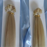 Cheap Best Flat-Tip Hair Extension Brazilian Virgin Hair Malaysian Peruvian Indian Virgin Hair 6A Human Hair Clip In Hair Extension No Shedding