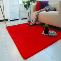 Wholesale NEW Design Anti skid Carpet Living Dining Bedroom Flokati Shaggy Ivory Wool Rug ZH183