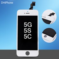 Wholesale LCD Screen For iphone G S C black and white color Full Complete LCD Screen Front Display Digitizer Glass Screen