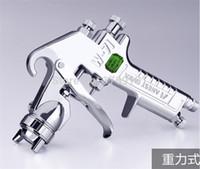 Wholesale Japan Made Anest Iwata W Gravity Type Spray Gun mm W Paint Spray Gun Painting Tools Pnuematic Tool