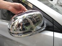 Wholesale Hyundai VERNA Solaris dr Sedan and dr ABS Chrome Rearview mirror cover Trim Rearview mirror Decoration