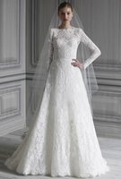 beautiful inspiration - Beautiful Lace Wedding Dresses Long Sleeve Floor Length Inspirations Hot Sale Wedding Gowns For Bride