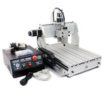 Wholesale Frees shipping Lasted Axis CNC Z S engraver router machine w spindle CNC engraving water cooled spindle V V