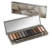 Wholesale 12pcs HOT Makeup NUDE Smoky Palette Color Eyeshadow Palette g High quality DHL
