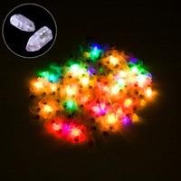 paper lanterns led - Freeshipping Flash LED Ballon Light Balloon Lamp For Paper Lantern Balloon Wedding Party Decor
