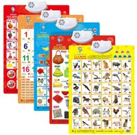 audio learn english - English Chinese bilingual early learning tools Electronic teaching Audio Wall Chart for baby before school teaching