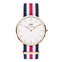 acrylic fabric - New Casual Watch daniel wellington Wristwatches Man Women Quartz Watch Women Dress Watch Women s Fashion Watches