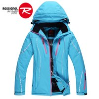 Wholesale thicken winter rossignol female snowboards jacket water and windproof thermal warm ladie s skiing jacket female snow overcoat jackets