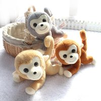 Wholesale 2016 New Year Gift Styles Monkey Plush Toys cm Cute Stuffed Plush Monkey Dolls Soft Toy Decorations
