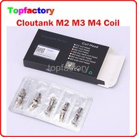 Cheap Cloupor atomizer coil head Best Cloutank Series M4 M3 M2 cartomizer coil