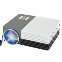 Wholesale Mini Portable GM50 Mini Portable LED Cenima Home Theater Projector P AV USB SD VGA HDMI x1080 LCD Projectors