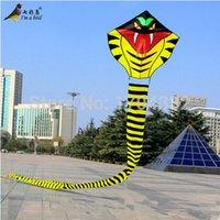 Wholesale Outdoor Sports NEW m Power Huge Cobra Kite Animal kites Snake Kite Good Flying