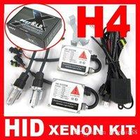 Wholesale Super Bright H4 Bi xenon Light Kit Pair W Car H4 Xenon HID Bulb K D2S D2R New DHL Fast Delivery