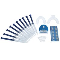 tooth whitening kit - Teeth Whitening Dental Bleaching System Tooth Whitener Whitening Gel Dental Trays Care Whitening Home Kit Dental Equipment W1346