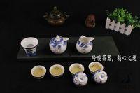 porcelain teapot white - blue and white bone china kung fu tea set teapot porcelain tea set tray china tea cups pu er tea set