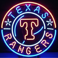 baseball beer game - HOT TEXAS RANGERS BASEBALL NEON SIGN SPORT GAME TEAM SIGN BEER BAR PUB NEON LIGHT REAL GLASS TUBE NEON ADVERTISING DISPLAY quot X18 quot