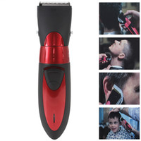 Men adult beard - Brand New Professional Waterproof Electric Hair Clipper trimmer Fit for Adult Child EU Plug Standard MAS_405