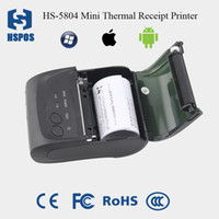 Wholesale portable handheld ios mobile thermal money receipt printer with RS232 usb Bluetooth4 support esc pos and Android High Quality