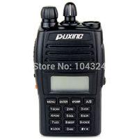 Wholesale New Black Walkie Talkie VHF UHF MHz MHz CH W FM Radio VOX Scan Two Way Radio