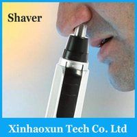 Wholesale DHL Free Original Electric Nose Ear Trimmer Shaver Clipper Cleaner Remover retail Package