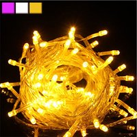 Wholesale Wholesaels New Arrival Creative Christmas Tree Fairy Colorful LED String Party Lights Lamp Xmas Waterproof Lights LT0049 Smileseller