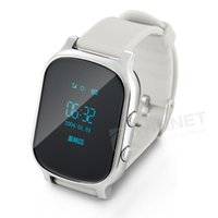 Wholesale Child Smart Watch Phone GPS Finder Tracker Kid Locator Alarm SOS Wifi Security Silver Gold