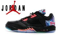 Wholesale Nike dan V Low Retro Basketball Shoes Men Original Sneakers Cheap Retro Jordan Low Cut New Boots Colors Size US7 US13