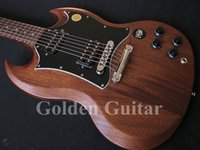 Cheap Best Newest Custom Brown SG Electric Guitar Very Beauty Free Shipping Musical instruments