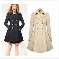 winter clothes women - Women Clothing Classic Lapel Double Pocket Longline Wool Oversized Coat fashion women s Long Wool Winter Coats