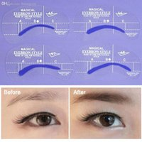 best template - Best quality style Beauty DIY Shaping Templates Makeup Eyebrow Grooming Stencil Tool Kit east