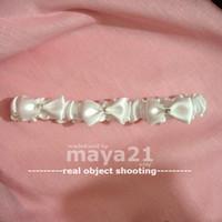 Wholesale Bridal Wedding Garter Double Satin Ribbon Bowknot Leg Garters Bridal Accessories Wedding Garter
