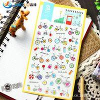 Wholesale Pack South Korea Sent Straight Sonia Pvc Decorative Stickers Diary Albums Decoration Bike