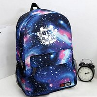 Wholesale Korean Fashion Women Backpack Printing BTS Backpack School Bags For Teenagers Waterproof Nylon Men s Backpack A861