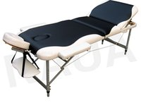 aluminum end table - Selling high end beauty bed folding massage table therapy bed massage bed aluminum tripod