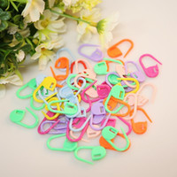 Wholesale Plastic Markers Holder Needle Clip Craft Mix Mini Knitting Crochet Locking Stitch ZH158