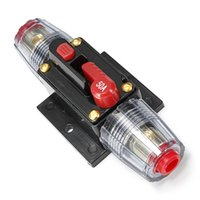 Wholesale 50A AMP Car Audio Circuit Breaker Inline Fuse Holder for V System Protection Best Price