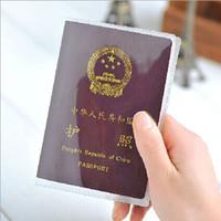 Card Holders Passport Unisex 2015 Japan transparent passport cover, waterproof passport bags, Travel accessories protective sleeve lawyers card passport holder 11260