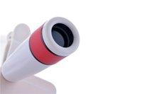 Wholesale new model mobile phone universal telescope new model bullet shape X zoom lens colors for iphone samsung smart phones