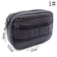 Wholesale Military Field Sundries Bag Portable Multifunction Waist Pack Travel Handbag Storage Bag Key Pouch Case Mess Bag Colors