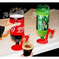 beverage dispenser - Mini Upside Down Drinking Fountains Fizz Saver Cola Soda Beverage Switch Drinkers Hand Pressure Water Dispenser Automatic DHL UPS Factory