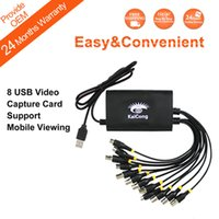 Wholesale Channel USB Video Real Time High Definition HTV USB Audio Video Capture Card DV Card KaiCong CF781