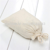 Wholesale 5PCS Customized Printed Cotton Stuff Bag Customized Drawstring Gift Packaging Recycle Storage Bag size